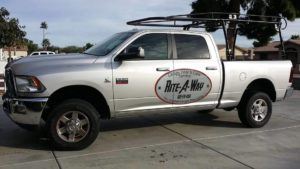 Rite-A-Way Arizona Garage Door Repair Truck