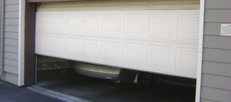 Garage Door Limit Is Not Properly Set